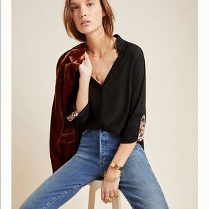 NWT Anthropologie Aidan Top. Size Small